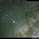 Scorpius in the Milky Way