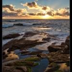 Sunset near Redgate Beach