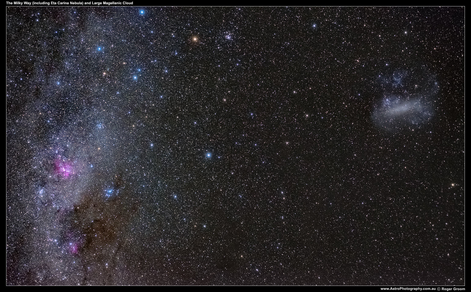 LMC-and-Milky-Way-with-Eta-Carina-(Fuji-X-E2-6400ISO-30s)