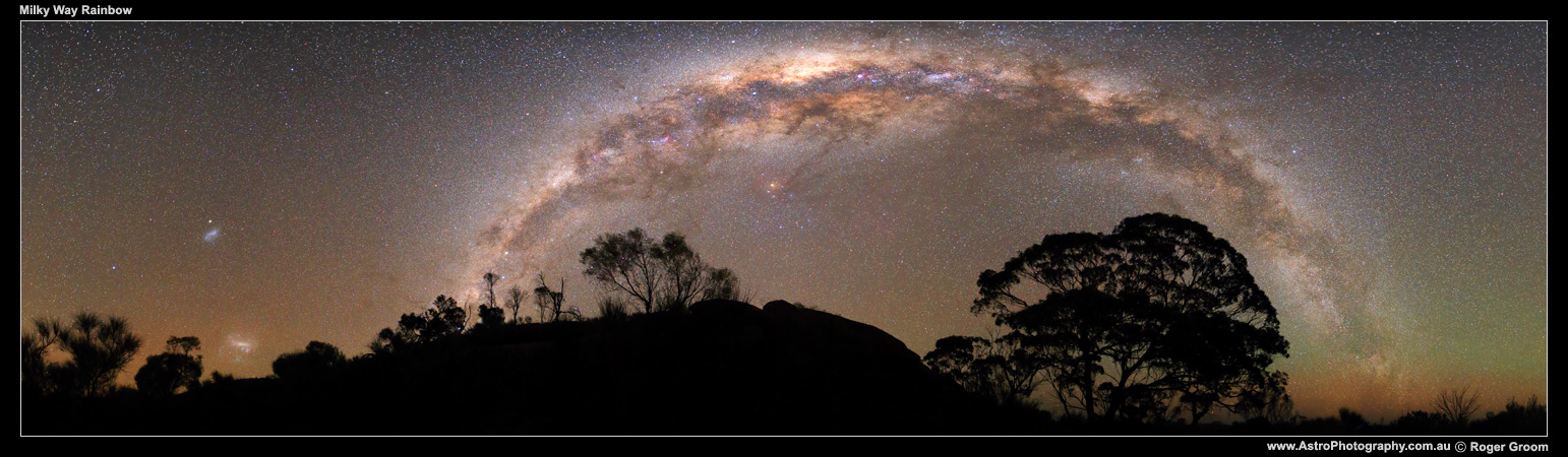 Milky Way Rainbow (panoramic)