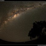 The Milky Way Overhead