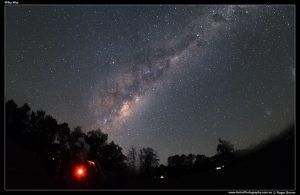Astrophotograph of The Milky Way