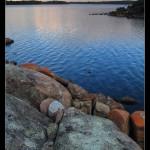Sunset on Wilson Inlet
