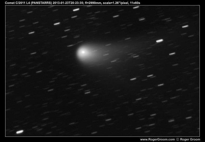 Photograph of Comet C/2011 L4 (PANSTARRS) at 2013-01-23T20:23:35