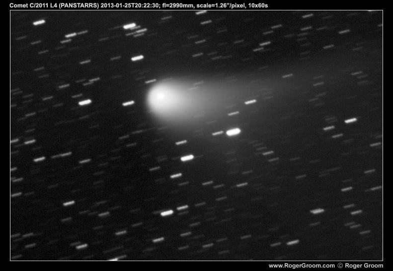 Photograph of Comet C/2011 L4 (PANSTARRS) at 2013-01-25T20:22:30