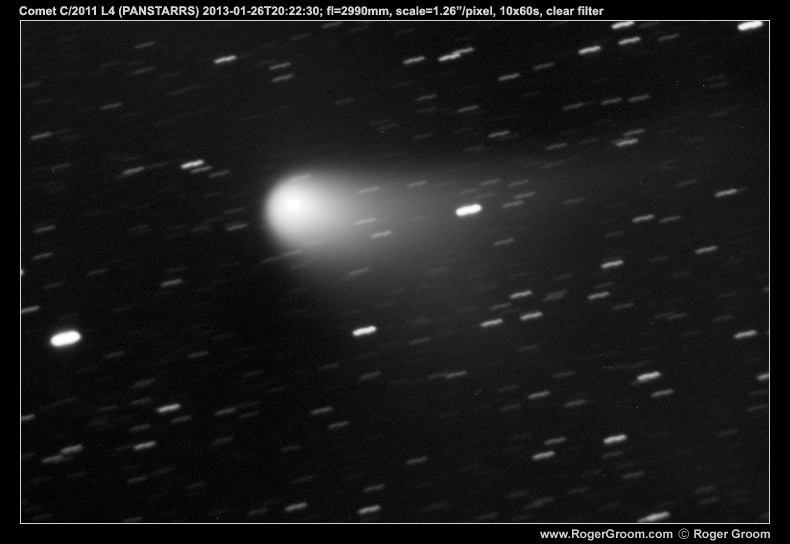 Photograph of Comet C/2011 L4 (PANSTARRS) at 2013-01-26T20:22:30