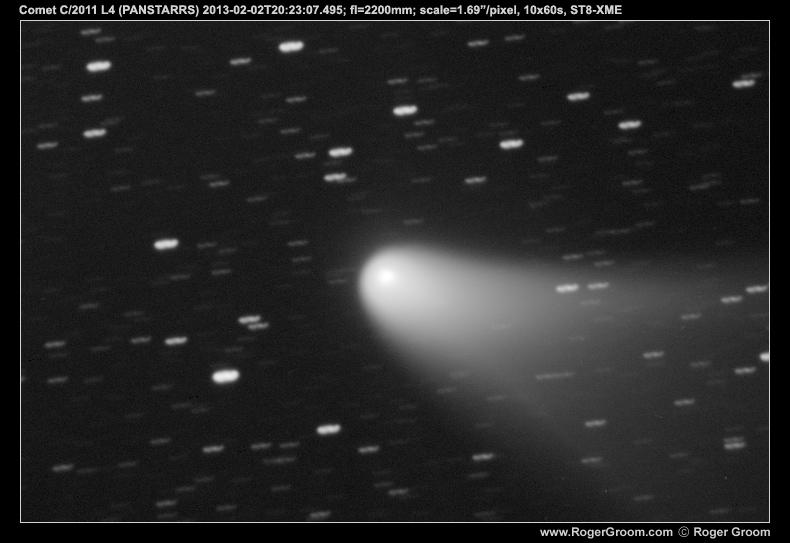 Comet C/2011 L4 (PANSTARRS) 2013-02-02T20:23:07