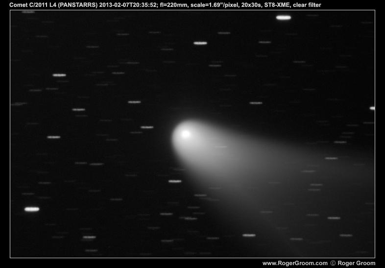 Comet C/2011 L4 (PANSTARRS) 2013-02-07T20:35:52