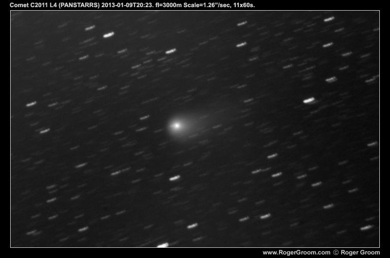 Comet C/2011 L4 (PANSTARRS) 2013-01-09T20:22:19