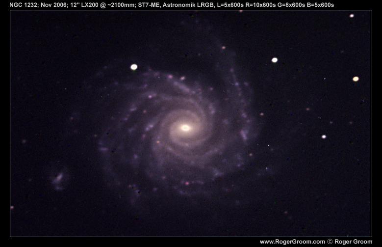 NGC 1232 LRGB