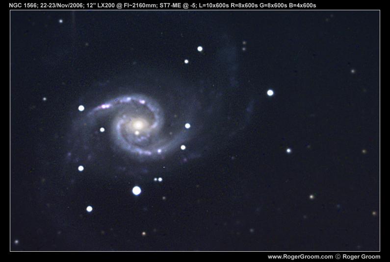 NGC 1566 Spiral galaxy