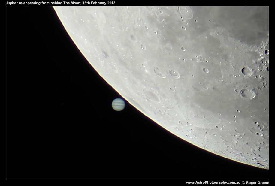 The Moon with Jupiter