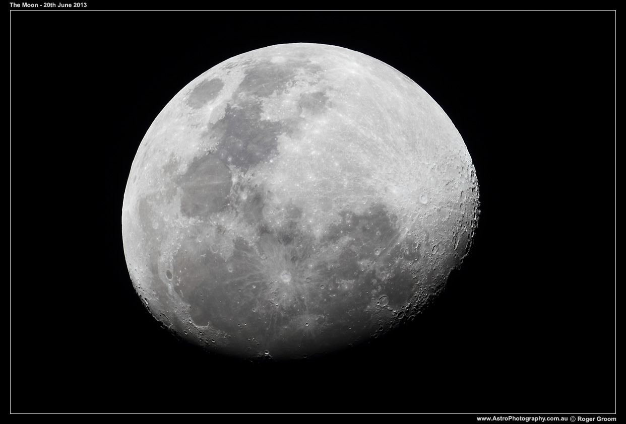 The Moon - 20th June 2013