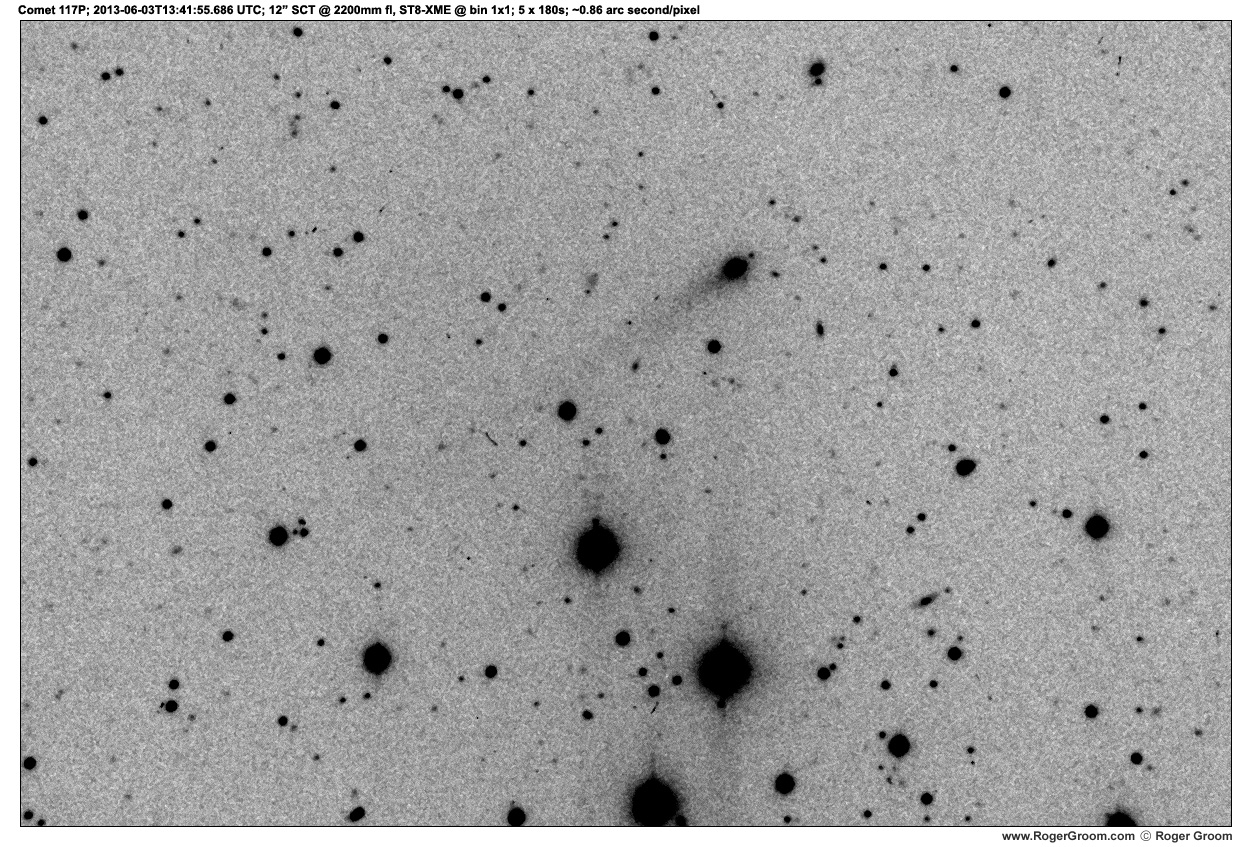 Photograph of Photograph of Comet 117P/Helin-Roman-Alu at 2013-06-03T13:41:55.686 UTC