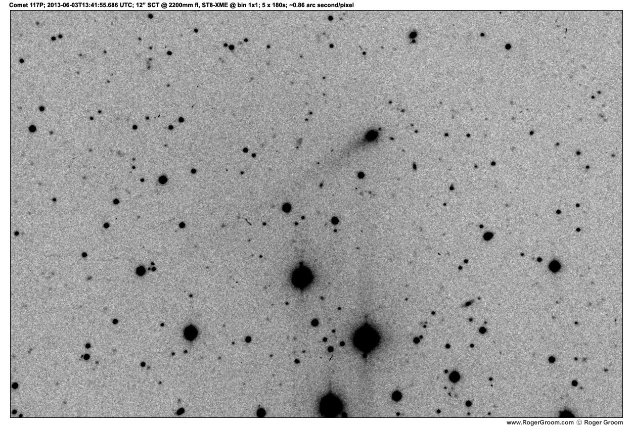 Photograph of Photograph of Comet 117P/Helin-Roman-Alu at 2013-06-03T13:41:55.686 UTC
