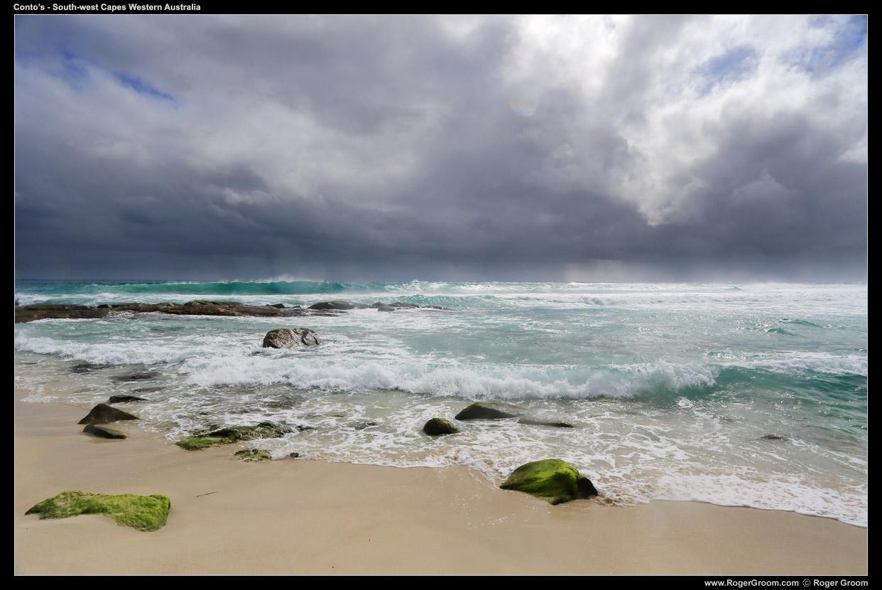 Conto's Beach, South-west capes, Western Australia.