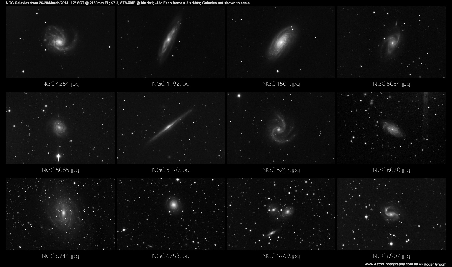NGC Galaxies 26 28 March 2014