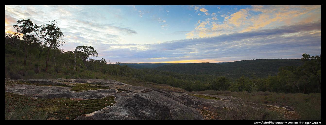Helena Valley Sunset Panorama