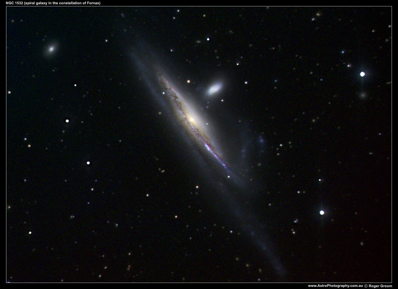 NGC 1532 (galaxy in the constellation of Fornax)