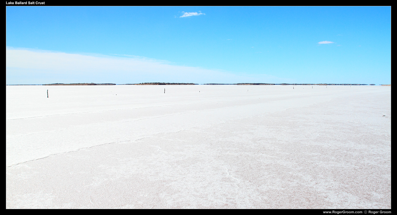 Lake Ballard Salt Crust