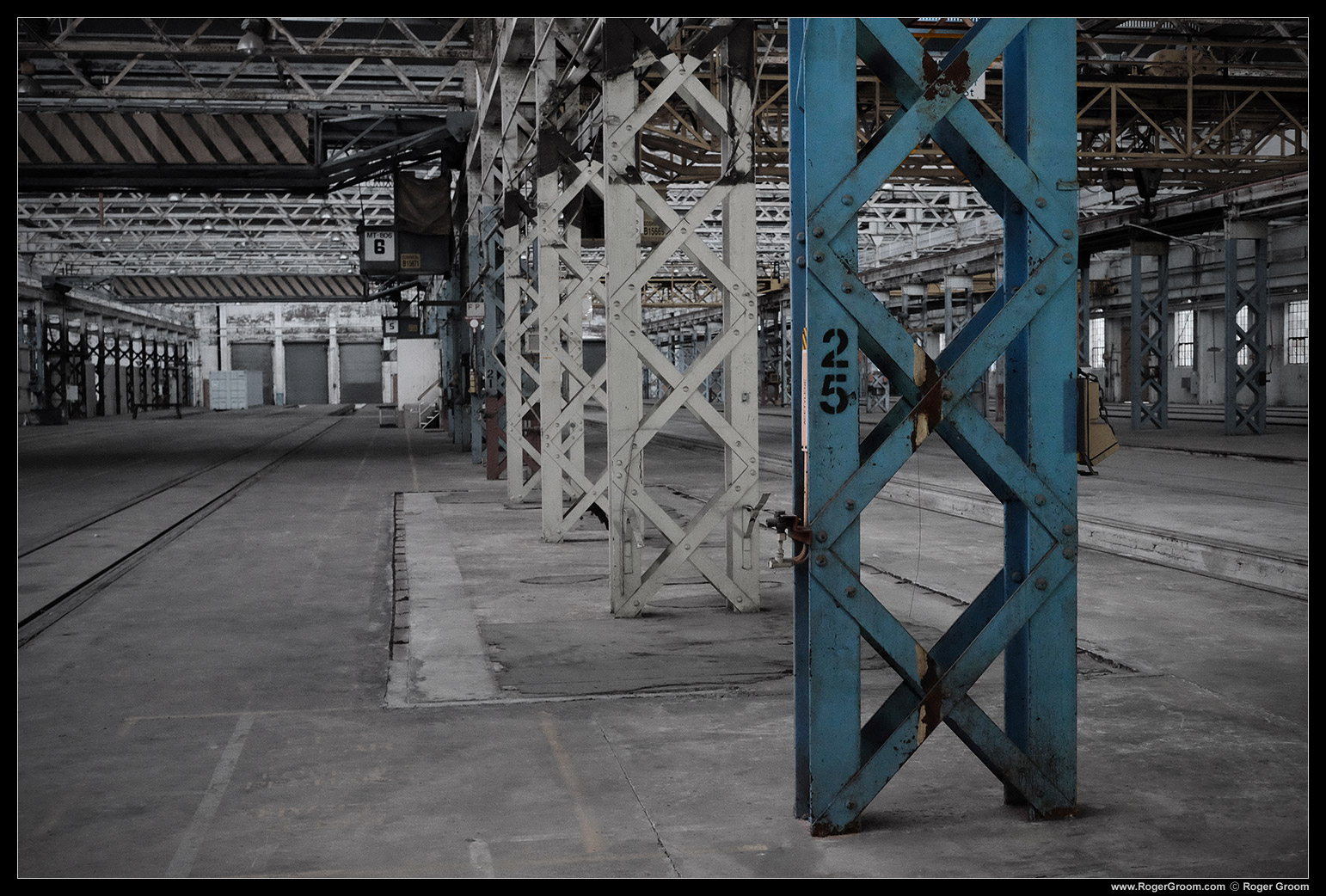 Midland Railway Workshops inside.