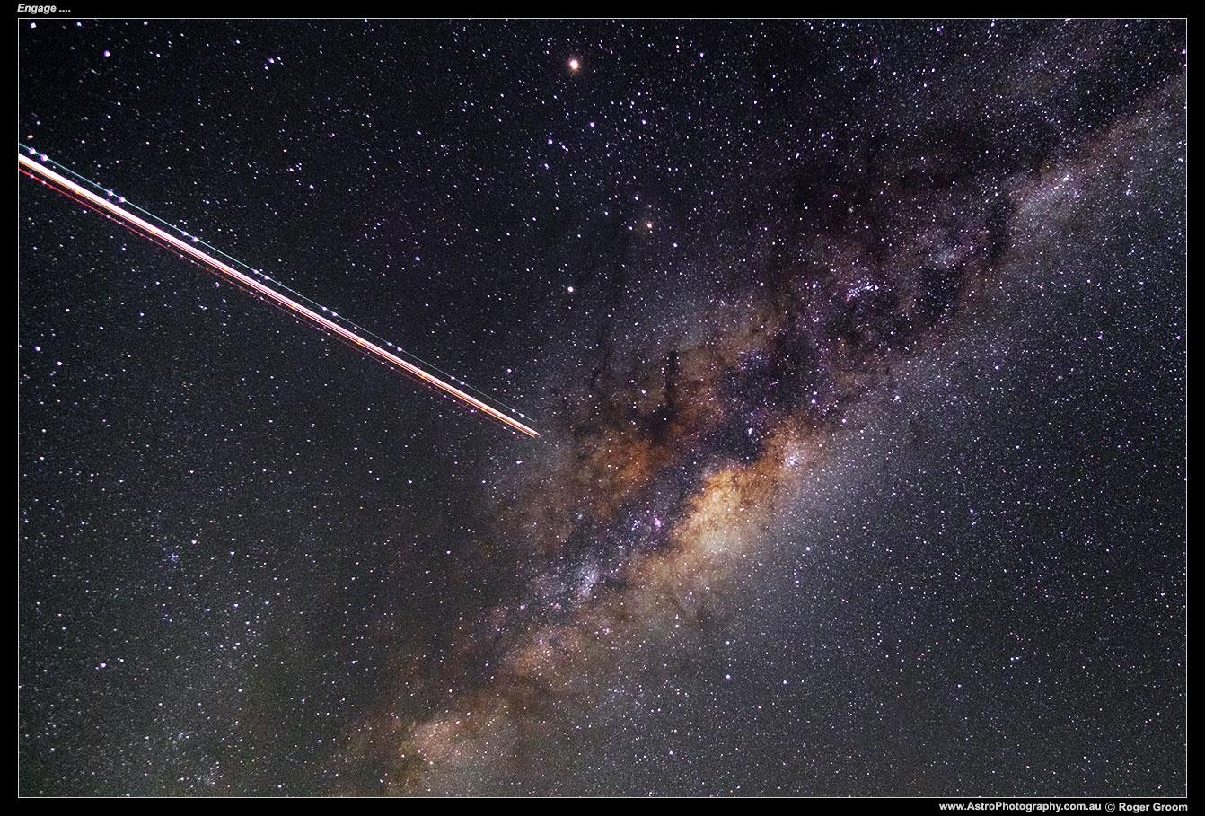 Milky Way - Warp Speed!
