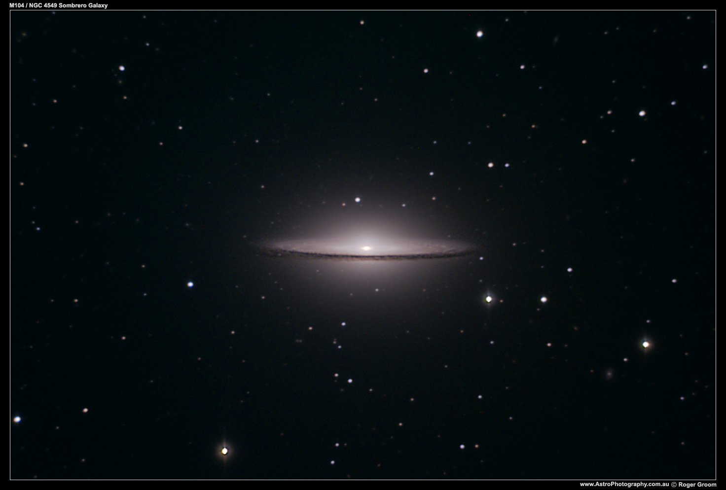NGC 4549 / Messier 104 (Sombrero Galaxy)
